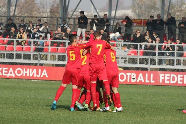 Makedoniens U16 mit Rekordsieg
