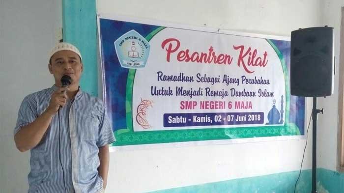 Ramadhan, SMP Negeri 6 Maja Gelar Sanlat