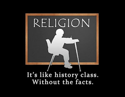 Funny religion - it's like history class without the facts