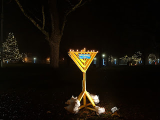 Town Common menorah