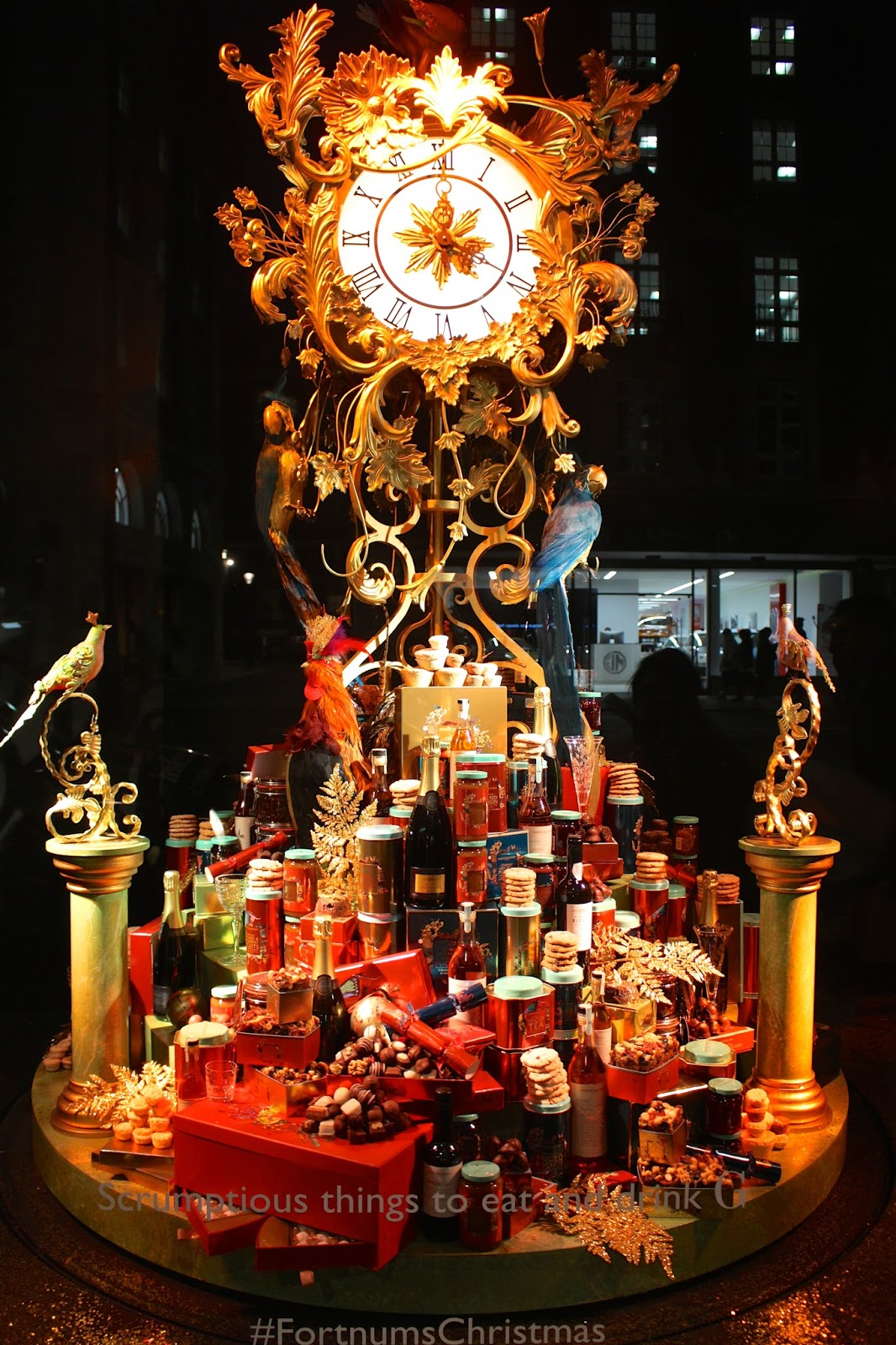 fortnum & mason christmas 2015 window display