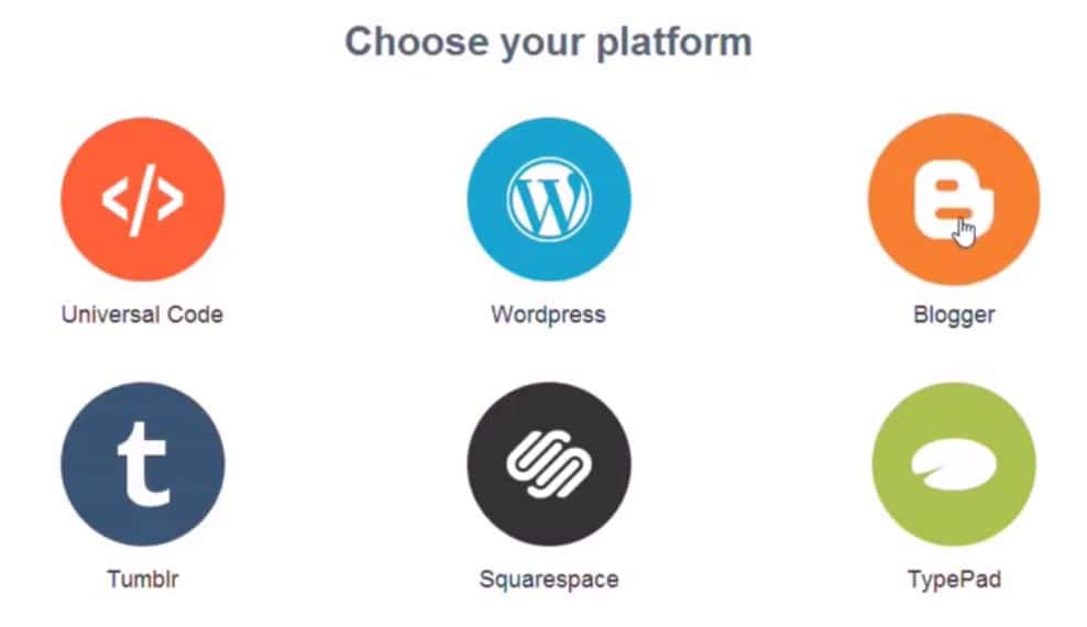 Choose your blog platform