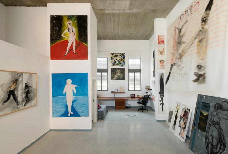 Open space progettato per ospitare una collezione d'arte