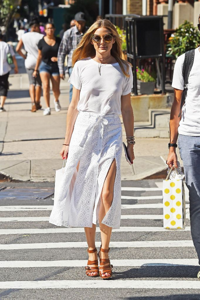 Olivia Palermo Summer Street Style at New York City