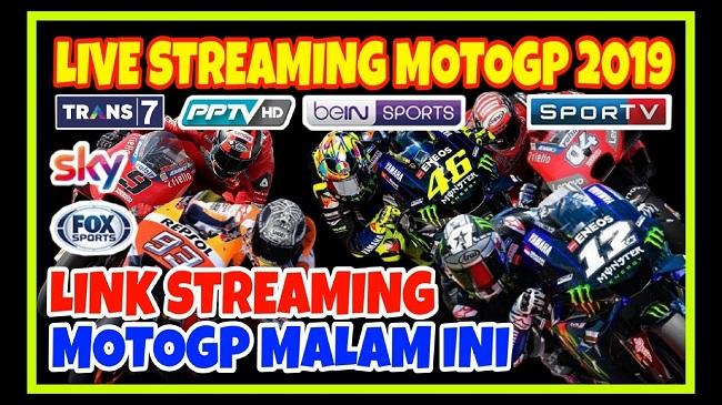 link live streaming moto gp tahun 2019