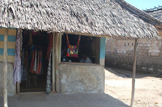 Kenya's Pate Villages' dressmaker's shop