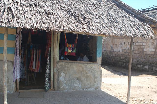 Kenya's Pate Villages' dressmaker's shop