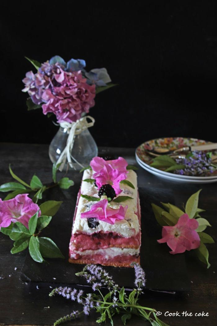 tarta-helada-de-moras, icebox-cake-with-blackberries