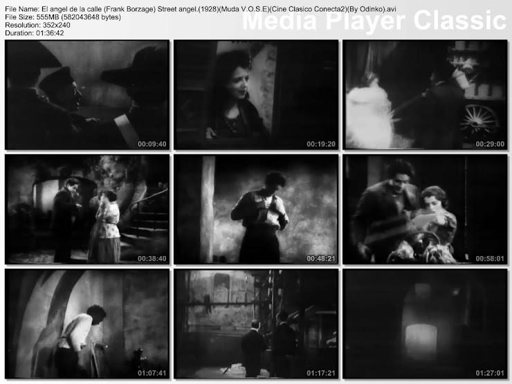 El ángel de la calle 1928 | secuencias de la película | Capturas