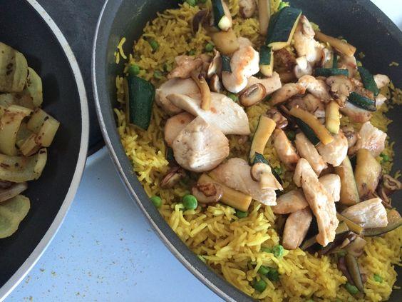 dorits chateau et chocolat | foodblog: schnelle kÜche | reis-curry ... - Schnelle Küche Für Zwei