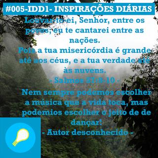 #005-IDD1- Ideia do Dia 1