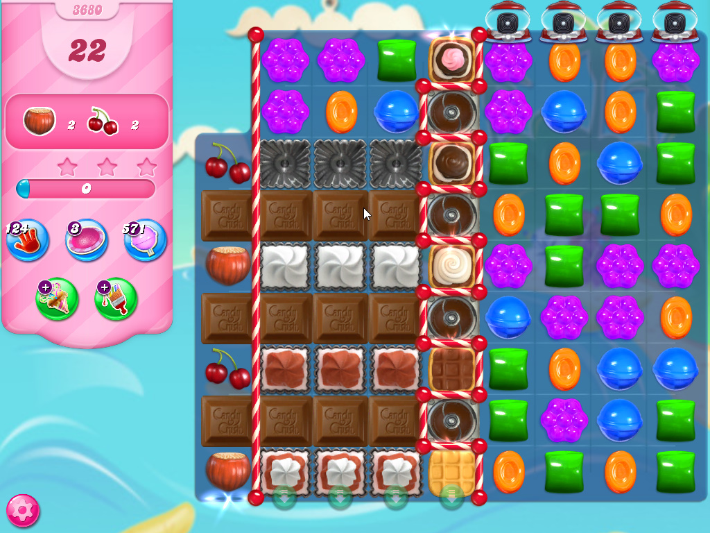 Candy Crush Saga level 3680