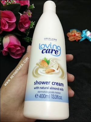 sabun oriflame Loving Care Shower Cream