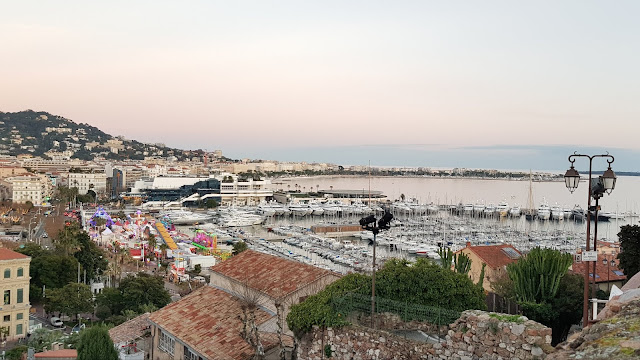 View over Cannes from Le Suquet