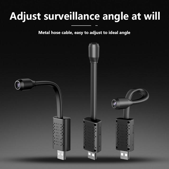 U21 HD Smart Mini Wifi Camera AI Human Detection Real-time Surveillance IP Camera