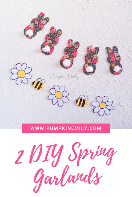 2 Easy DIY Spring Garlands