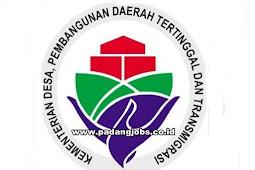 Lowongan Kerja Kementerian Desa Pembangunan Daerah Tertinggal dan Transmigrasi Sumbar 2018