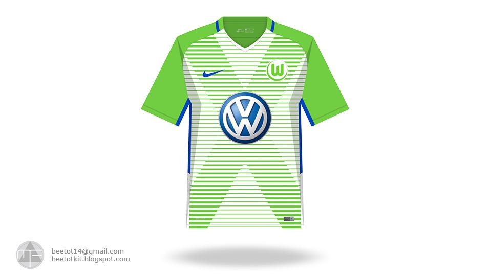 finest selection f5edf ab642 Beetot Kit: VFL Wolfsburg Kit 1718