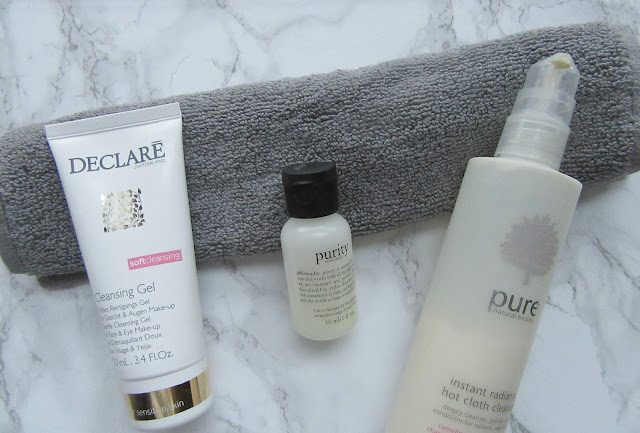 Declare Soft Cleansing Gel Philosophy Purity Made Simple M&S Pure Cleanser