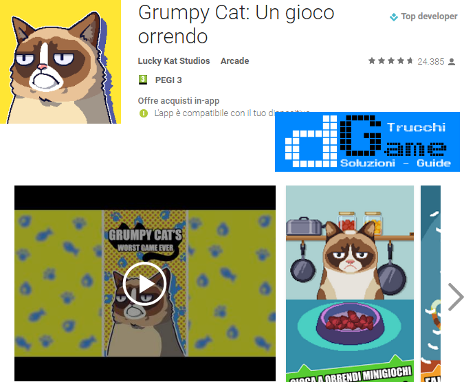 Trucchi Grumpy Cat's Worst Game Mod Apk Android v1.1.2