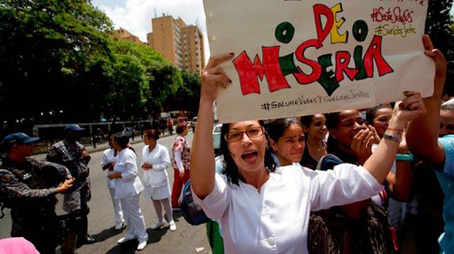 Crisis del sector salud desata protestas en Venezuela