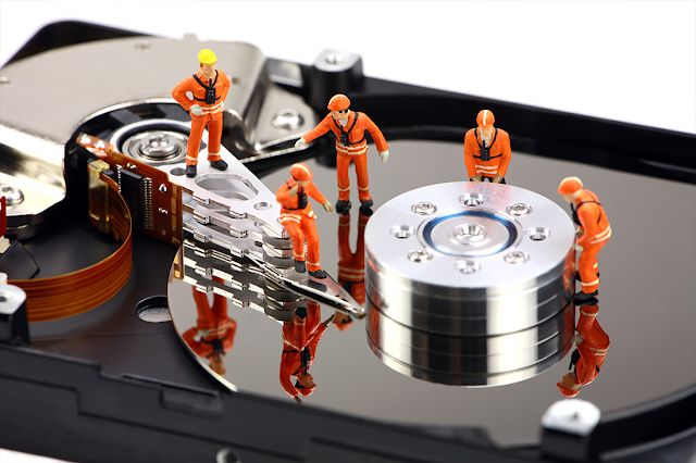 Here's a simple tool to recover your data and repair bad sectors.