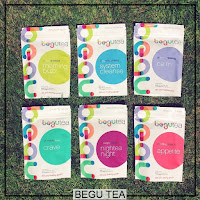 Begu Natural Herbal Teas Eat Clean Detox