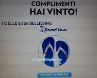 Logo Vinci anche tu con Lavazza una delle 5.000 paia di infradito Ipanema!