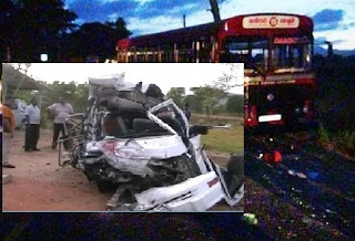 head-on collision in Galewela, Dambulla