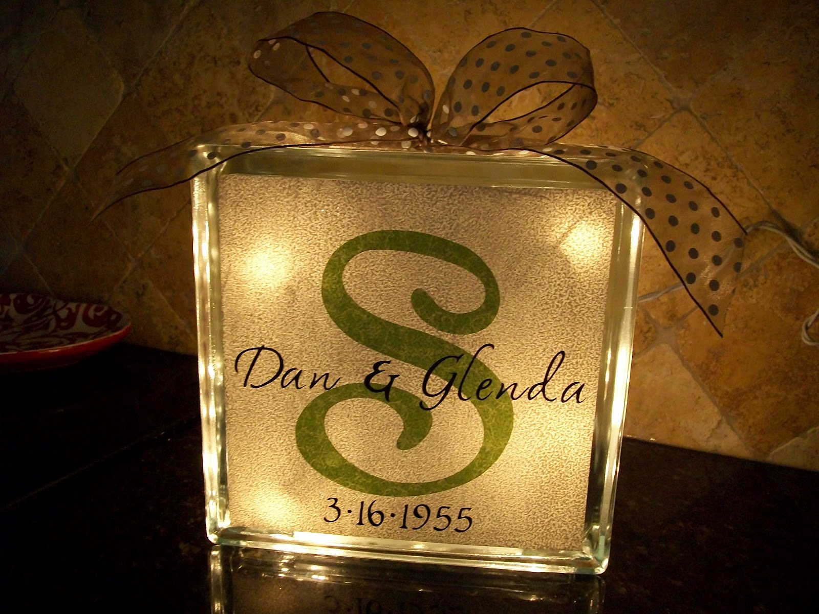 Creative Touches To Everyday Items Wedding Glass Blocks
