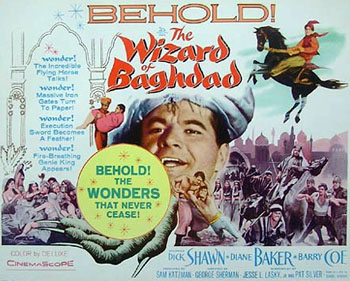 The Wizard of Baghdad 1960 movieloversreviews.filminspector.com poster