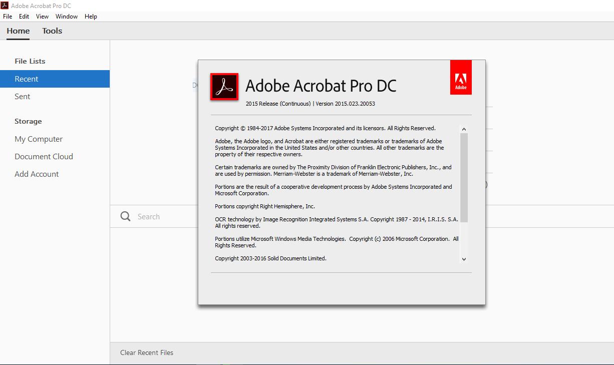 Soft] Adobe Acrobat Pro DC 2015 - Full Crack