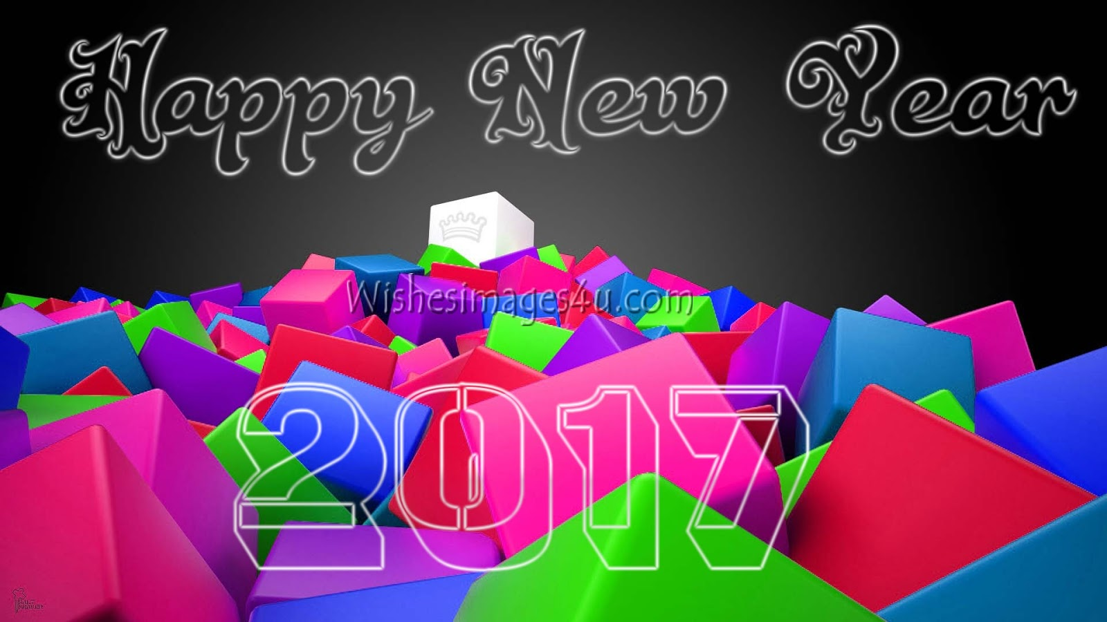 Happy New Year 2018 3D Wallpapers Full HD - New Year 2018 ...