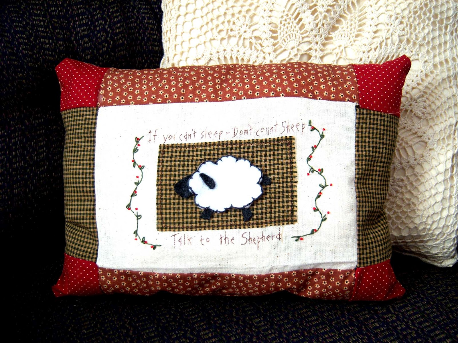 Shoregirl's Creations: Primitive Pillows