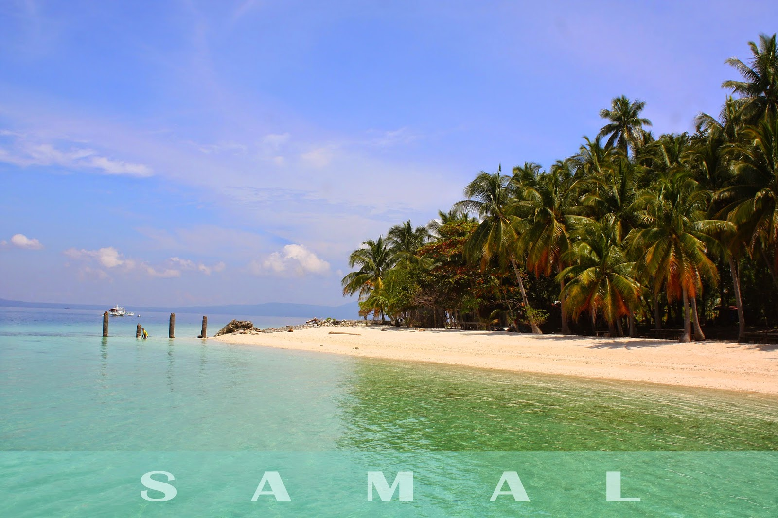 Babu Santa Beach Resort, a popular samal beach