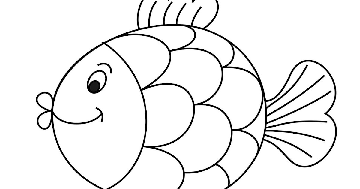 menebalkan huruf i dan mewarnai gambar ikan