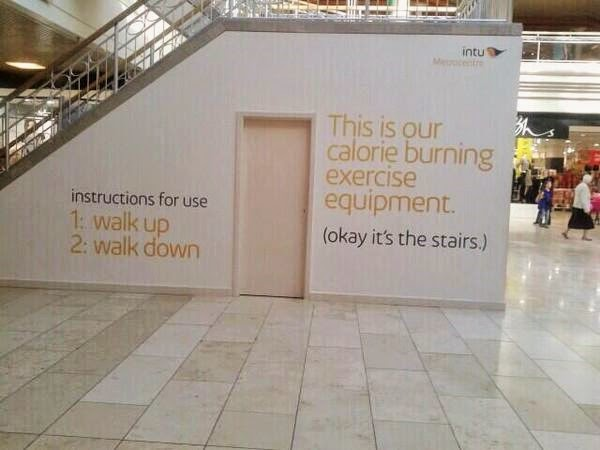 Climbing Stairs Isn't About Burning Calories