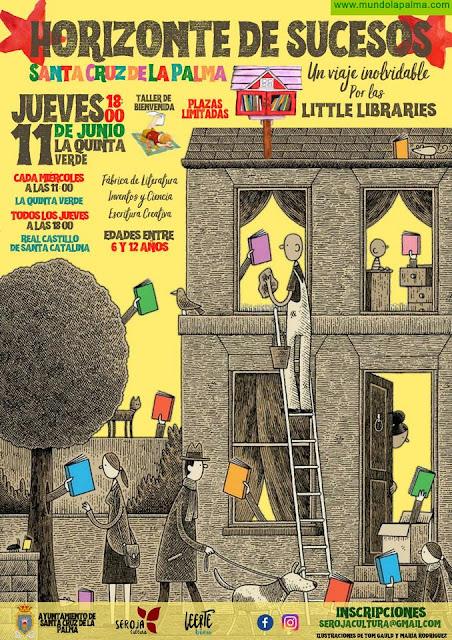 Cultura convierte la Quinta Verde y el Castillo de Santa Catalina en espacios para la lectura y el conocimiento integral de los menores