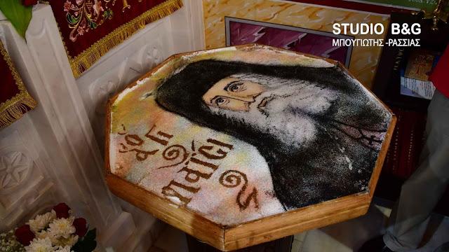 Αργολίδα: Με Αρχιερατική Θεία Λειτουργία τίμησαν τη μνήμη του Αγίου Παϊσίου στη Ζόγκα (βίντεο)