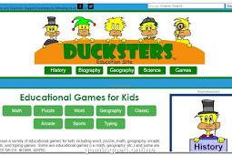 Beberapa situs yang menyediakan game edukasi untuk anak anak