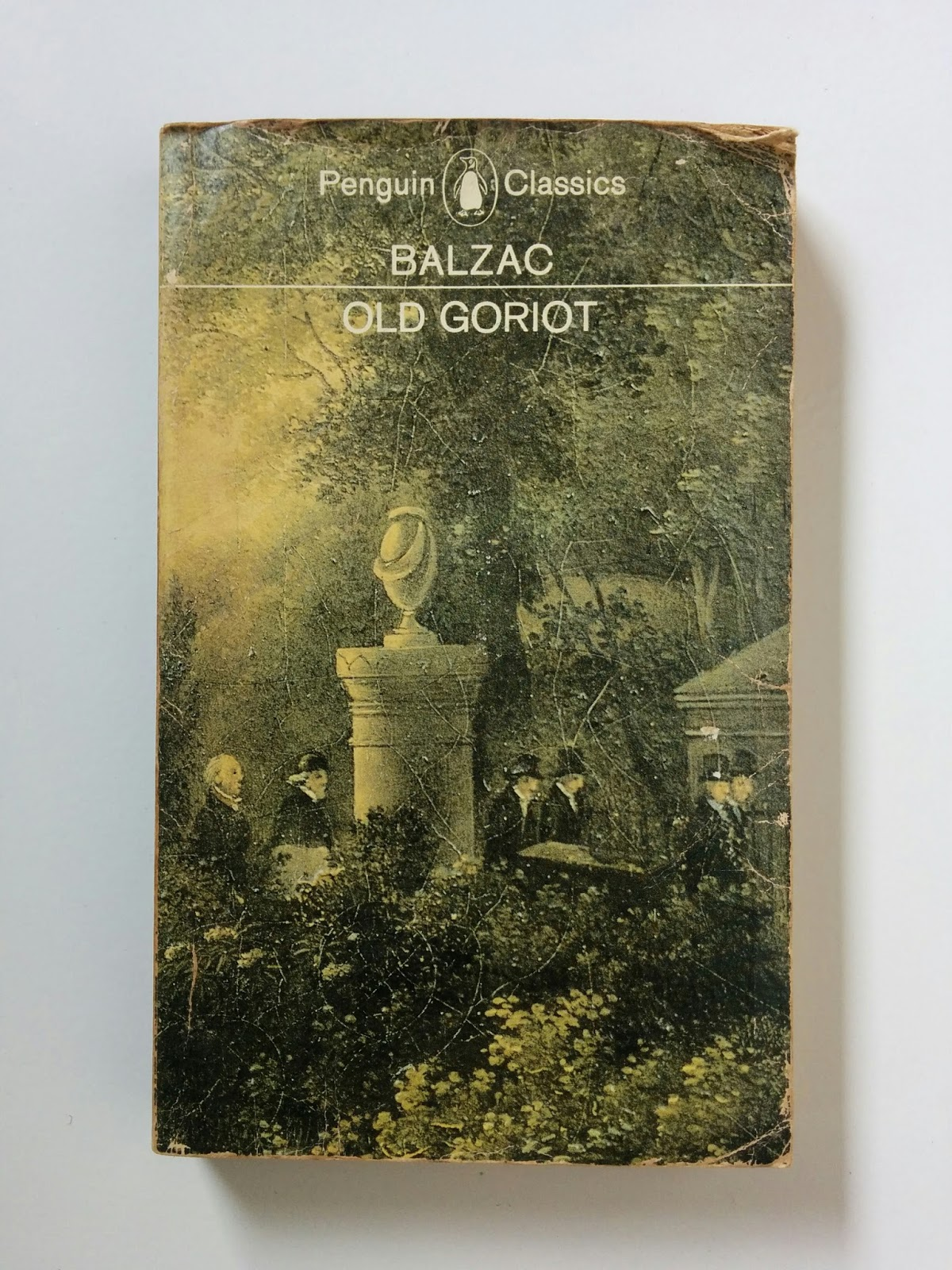 Novel Old Goriot (Honore de Balzac)