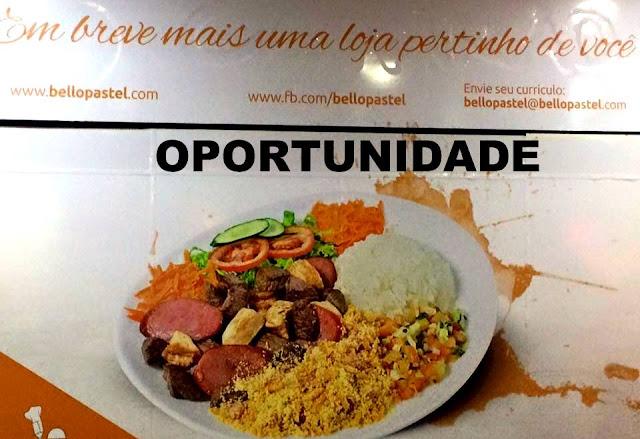 Oportunidade de emprego em empresa de alimentação