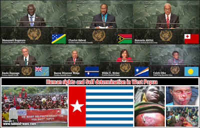 KNPB Mengucapkan Terima Kasih Kepada 7 Negara yang Angkat isu West Papua di PBB