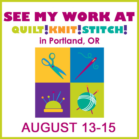 sew karenly created quilt knit stitch