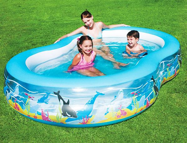 kolam renang anak bestway bentuk ikan