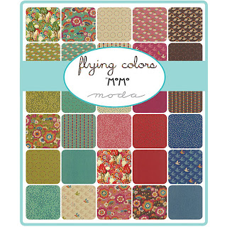 Moda Flying Colors Fabric by Momo for Moda Fabrics