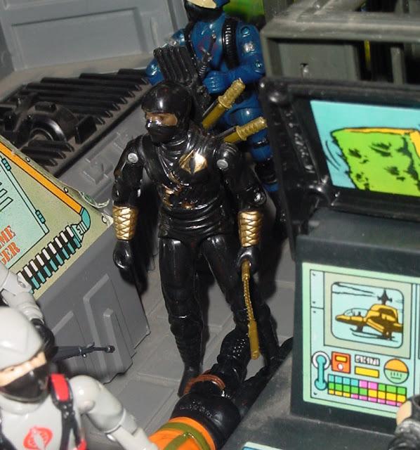 Ninja Ku, Ninja Black, Stormshadow, Argentina, Plastirama, Rare G.I. Joe Figures, 1983 Cobra Trooper, 1984 Stinger Driver, G.I. Joe Headquarters, HQ