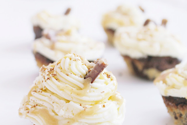 Curly Wurly Cadbury cupcakes recipe