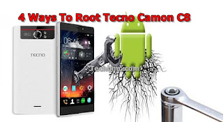 4 ways to Root Tecno Camon C8 Android