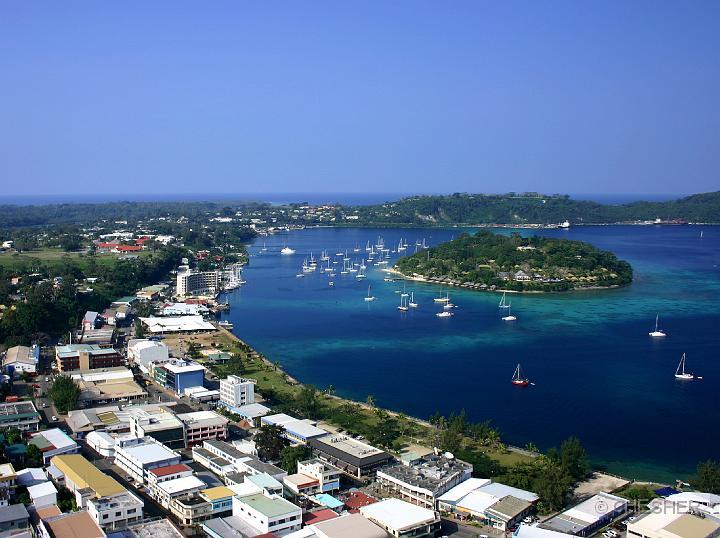 Porto-Vila, a Capital de Vanuatu
